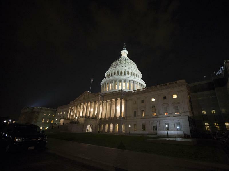 Kapitol in Washington - Foto: Alex Edelman/Archiv