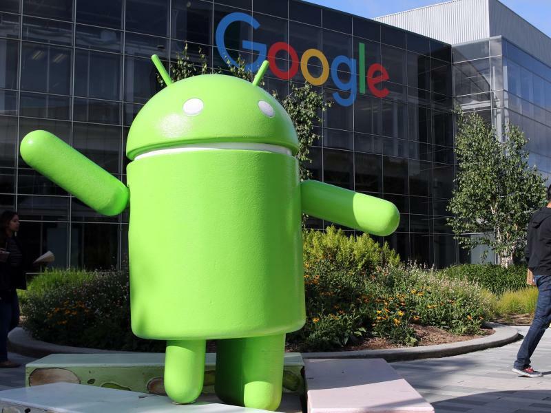 Google - Android - Foto: Christoph Dernbach