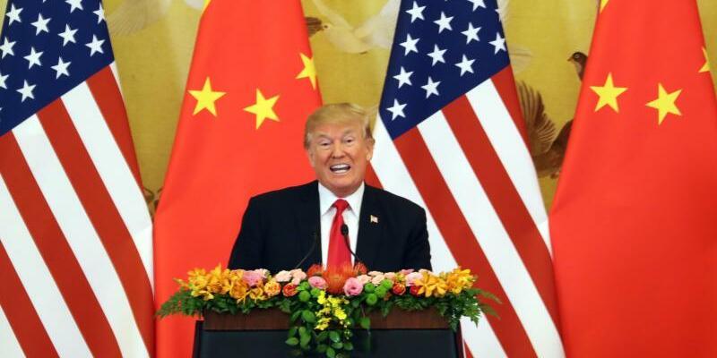 Trump in China - Foto: Andrew Harnik