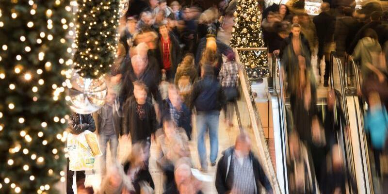 Weihnachtsgeschäft - Foto: Daniel Bockwoldt