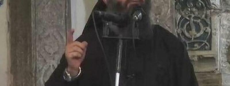 IS-Führer Abu Bakr al-Bagdadi - Foto: Islamic State Video
