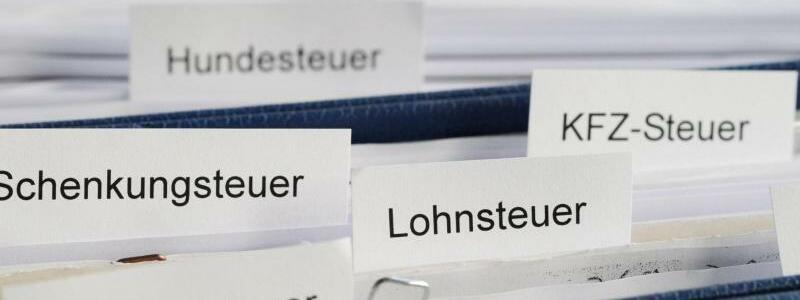 Steuerschätzung - Foto: Tobias Hase