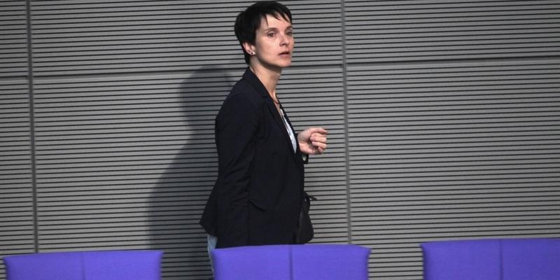 Frauke Petry am 24.10.2017 - Foto: über dts Nachrichtenagentur