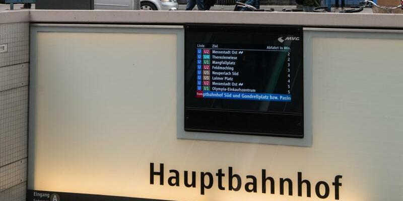 Hauptbahnhof München - Foto: Matthias Balk