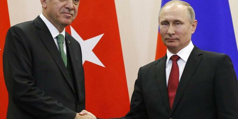 Putin und Erdogan - Foto: Alexander Zemlianichenko/Archiv
