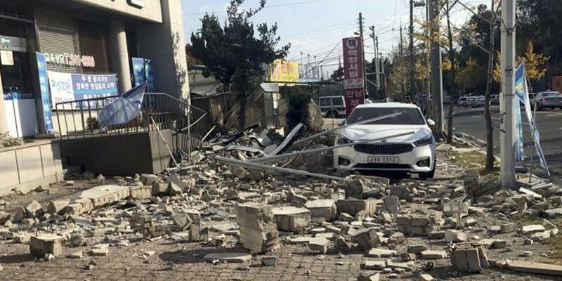 Erdbeben in Südkorea - Foto: Min Kyung-Suck
