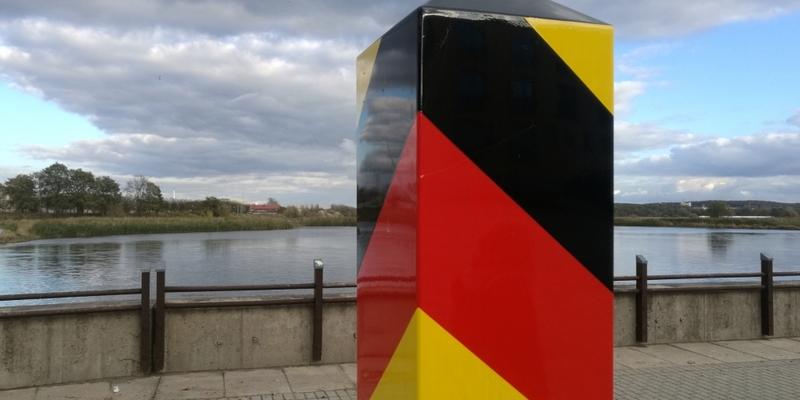 Grenzpfosten - Foto: über dts Nachrichtenagentur
