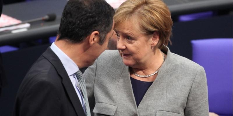 Cem Özdemir und Angela Merkel - Foto: über dts Nachrichtenagentur