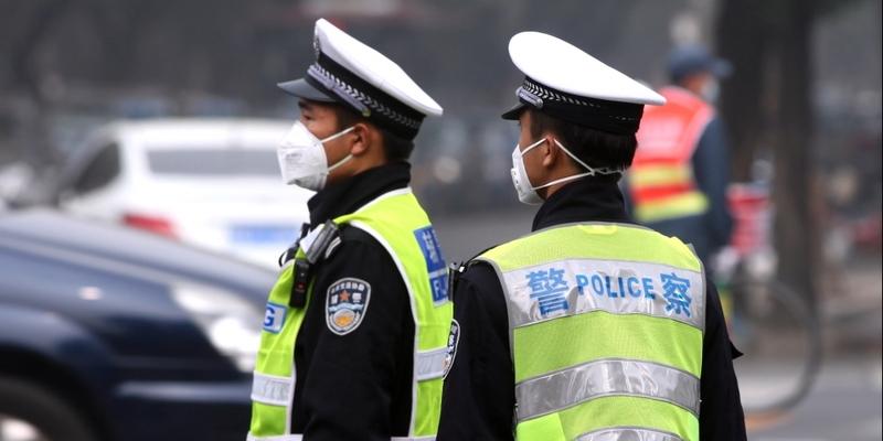 Polizisten in China - Foto: über dts Nachrichtenagentur
