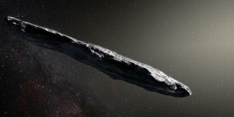 Asteroid aus anderem Sonnensystem - Foto: M. Kornmesser/European Southern Observatory