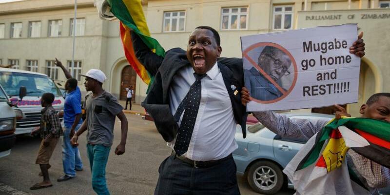 Jubel in Harare - Foto: Ben Curtis