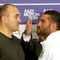 Duell - Foto: Manuel Charr (r) gewann den WBA-Schwergewichtsweltmeistertitel gegen Alexander Ustinow. Foto: