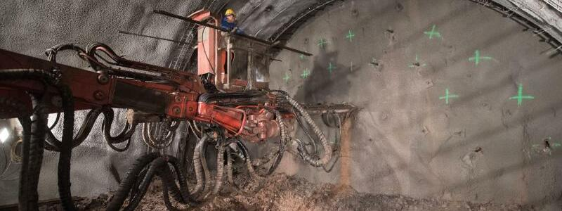 Tunnelbau - Foto: Marijan Murat