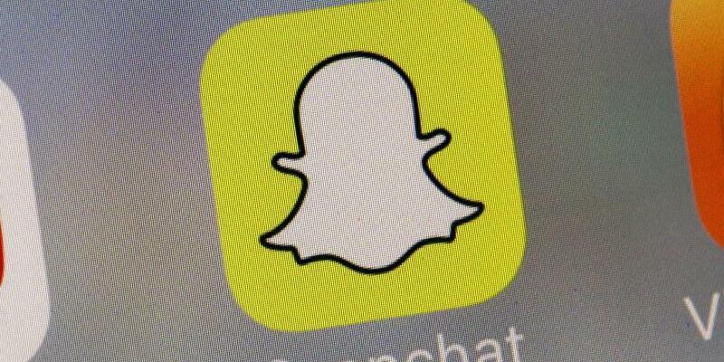 Snapchat-Logo - Foto: Richard Drew