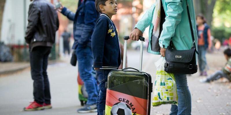 Flüchtlinge in Berlin - Foto: Kay Nietfeld