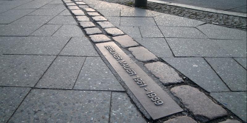 Verlauf der Berliner Mauer - Foto: über dts Nachrichtenagentur