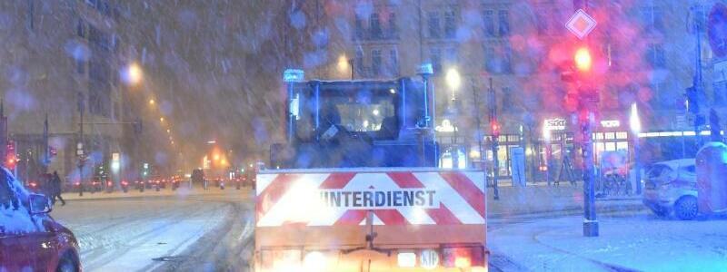 Wintereinbruch in Berlin - Foto: Paul Zinken