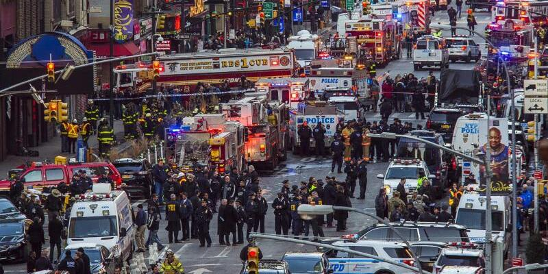 Explosion in New York - Foto: Andres Kudacki