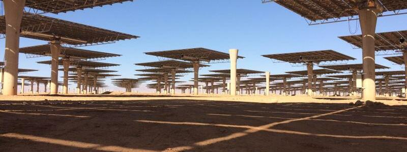 Solarkraft-Komplex in Marokko - Foto: Teresa Dapp