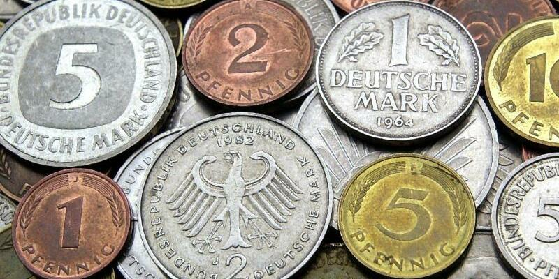 D-Mark-Münzen - Foto: Bernd Wüstneck