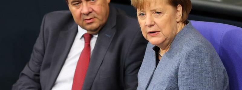 Merkel und Gabriel - Foto: Wolfgang Kumm