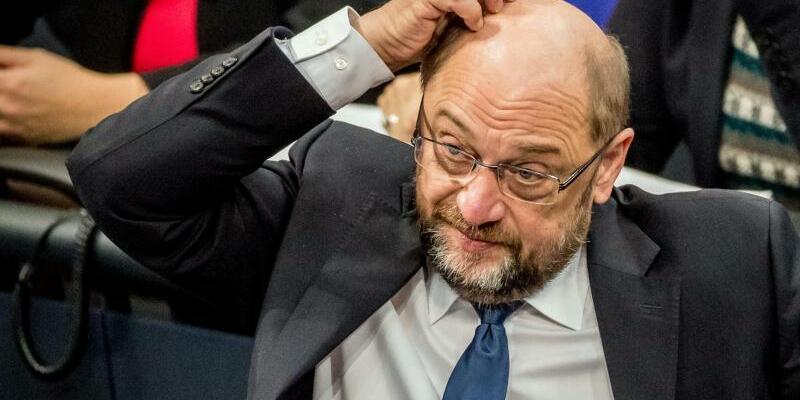 Martin Schulz - Foto: Alles nicht so einfach:SPD-Chef Martin Schulz ist nach dem Schlingern in der Koalitionsfrage angeschlagen. Foto:Michael Kappeler