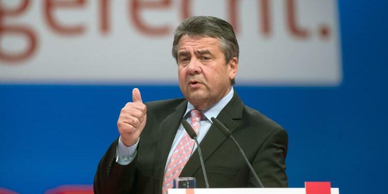 Sigmar Gabriel - Foto: Bernd von Jutrczenka