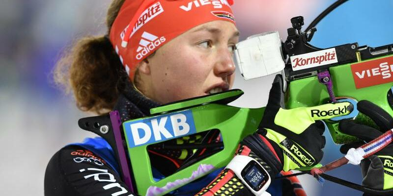Laura Dahlmeier - Foto: Anders Wiklund