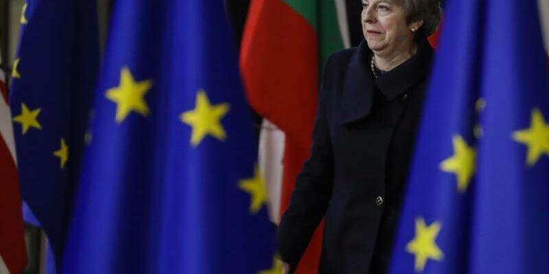 Theresa May - Foto: Thierry Roge/BELGA