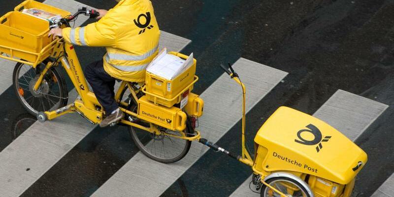 Deutsche Post - Zusteller - Foto: Sebastian Kahnert