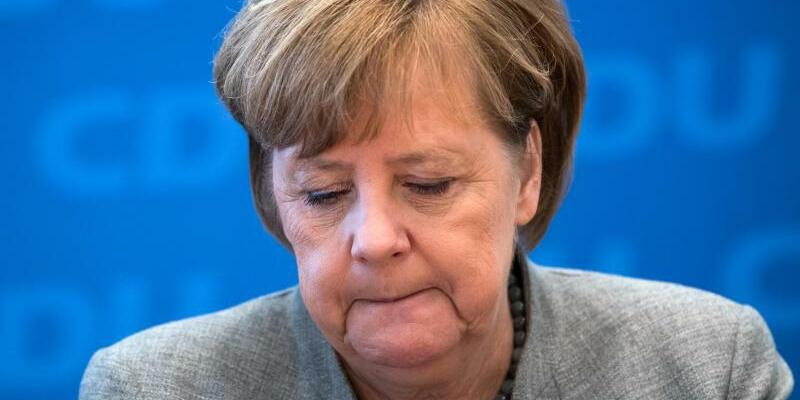 Merkel - Foto: Bernd von Jutrczenka