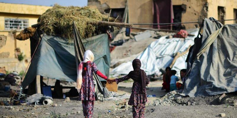Flüchtlingslager - Foto: Hannibal/Archiv