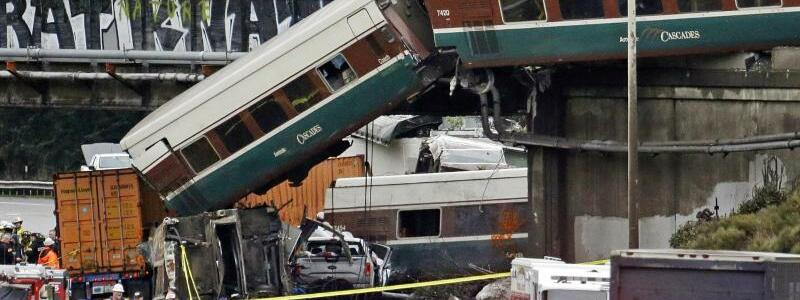 Bahnunglück in den USA - Foto: Elaine Thompson