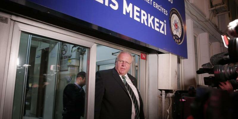 Botschafter Erdmann - Foto: Lefteris Pitarakis