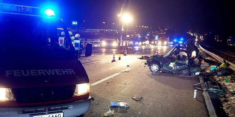 Unfall auf der A3 - Foto: Thomas Frey