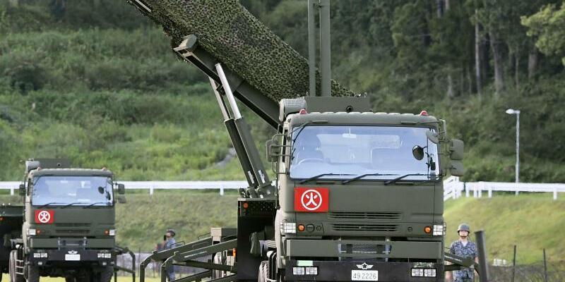Raketenabwehr in Japan - Foto: Ryosuke Ozawa/Kyodo News/Archiv