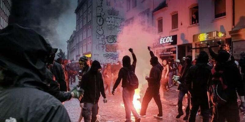 G20-Ausschreitungen - Foto: Markus Scholz/Archiv