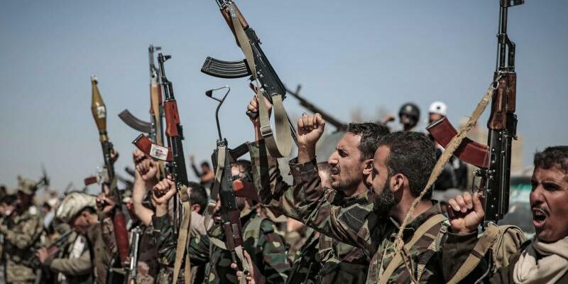 Huthi-Rebellen - Foto: Hani Al-Ansi
