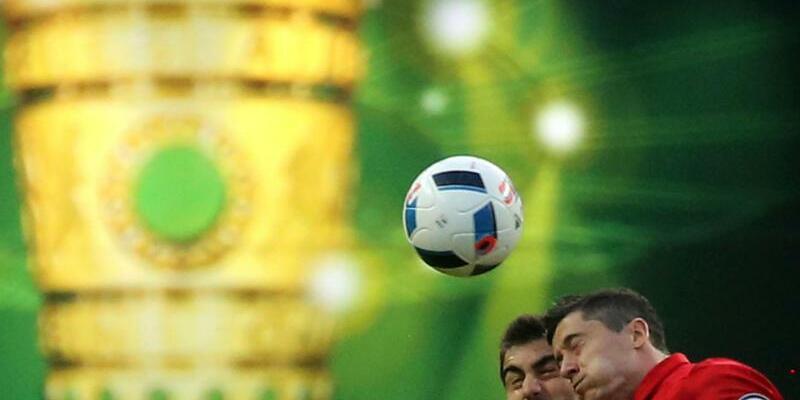 Pokal-Hit - Foto: Kay Nietfeld