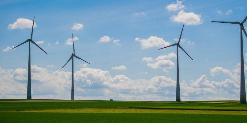 Windkraftanlagen - Foto: Andreas Arnold