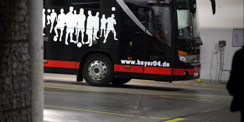 Mannschaftsbus von Bayer Leverkusen - Foto: über dts Nachrichtenagentur