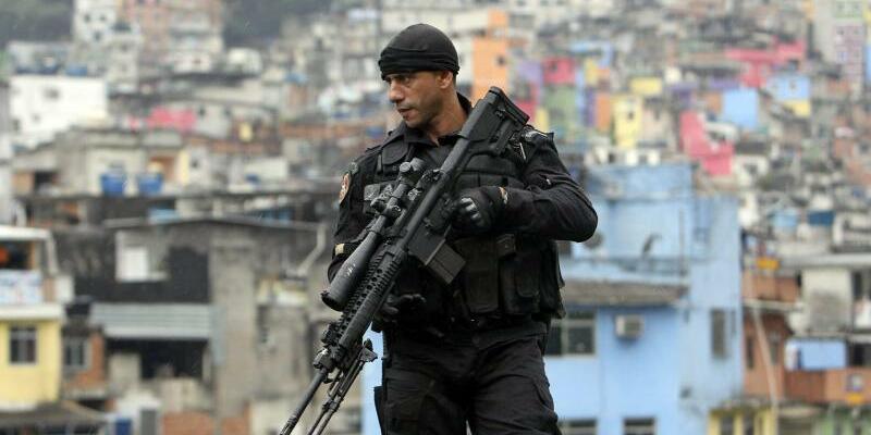 Rios Polizei-Spezialeinheit - Foto: Antonio Lacerda