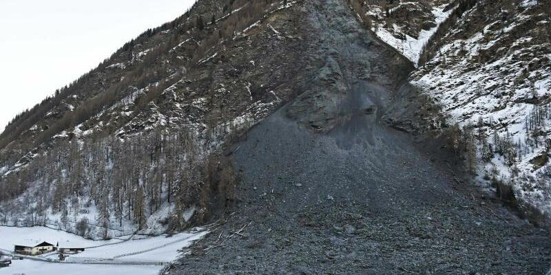Felssturz in Vals - Foto: Zeitungsfoto.At/APA