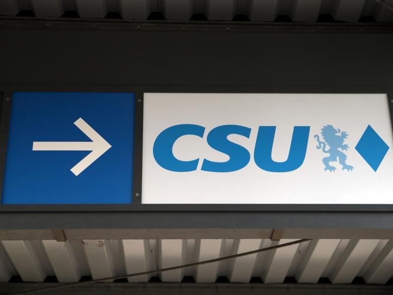 CSU-Logo - Foto: über dts Nachrichtenagentur