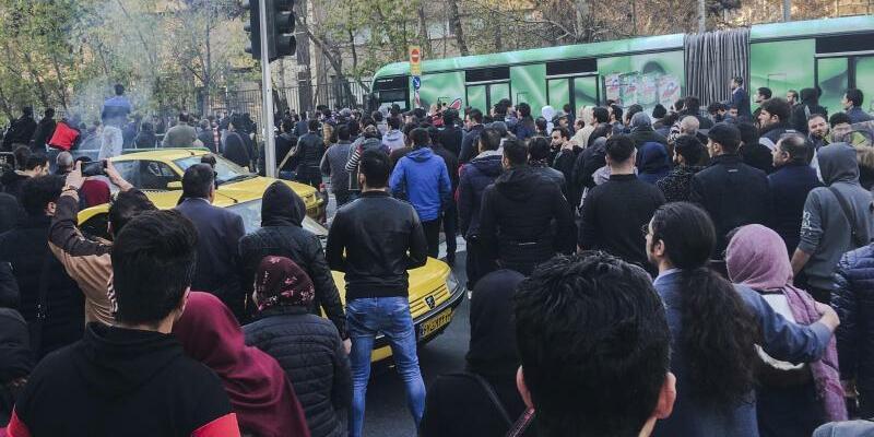 Proteste im Iran - Foto: Unbekannt/AP