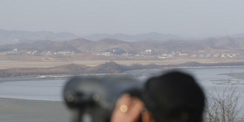 Grenze zwischen den Koreas - Foto: Lee Jin-Man