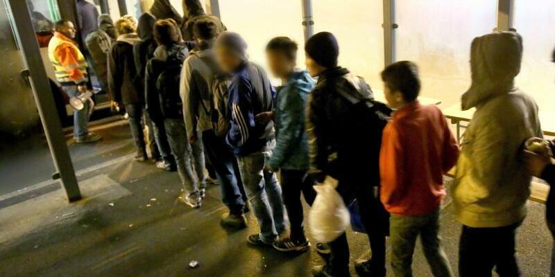 Minderjährige Flüchtlinge - Foto: Bernd Wüstneck/Archiv