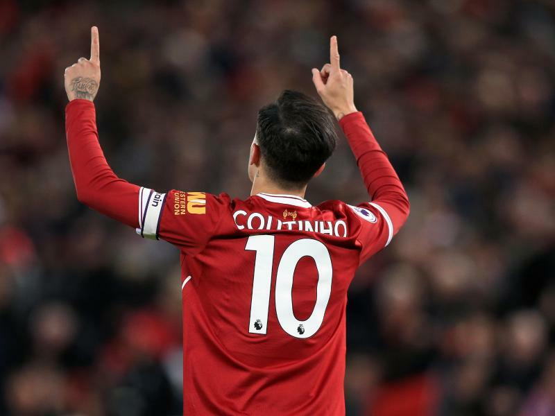Philippe Coutinho - Foto: Peter Byrne
