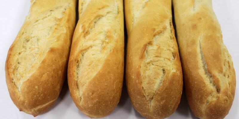 Französisches Baguette - Foto: Frankreichs Staatschef hat sich dafür ausgesprochen, das französische Baguette ins immaterielle Kulturerbe aufzunehmen.Foto:Jens Wolf