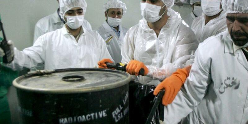 Atomwissenschaftler im Iran - Foto: epa/Archiv